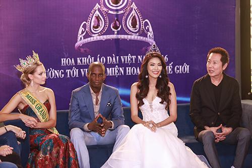 Lan Khuê được chủ tịch Miss Grand International mời thi hoa hậu-3