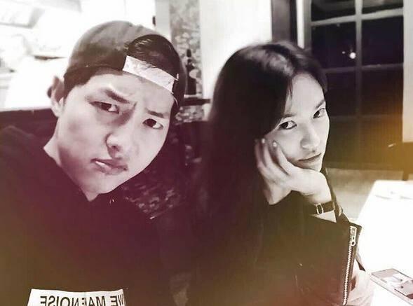 song hye kyo lan dau khoe anh song joong ki - 1