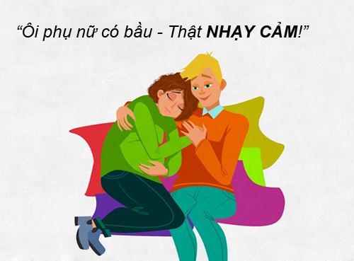 """nhung tinh huong """"cuoi ra nuoc mat"""" chi me bau moi hieu - 12"""