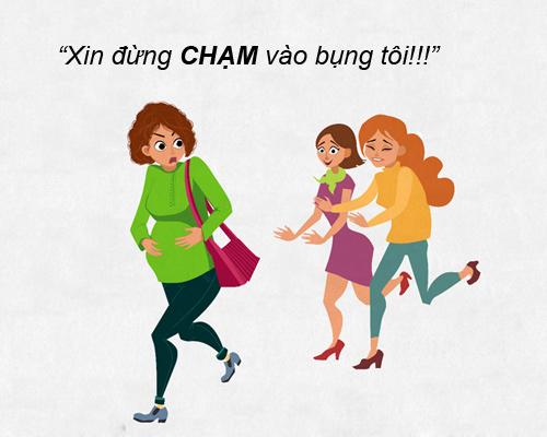 """nhung tinh huong """"cuoi ra nuoc mat"""" chi me bau moi hieu - 4"""