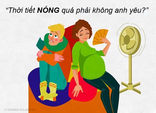 """nhung tinh huong """"cuoi ra nuoc mat"""" chi me bau moi hieu - 5"""