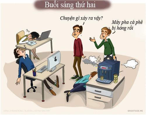 10 hinh anh 'chuan khong can chinh' ve dan van phong - 1