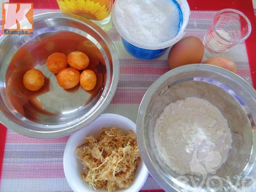 Làm bánh bông lan trứng muối bằng chảo chẳng cần lò nướng-1