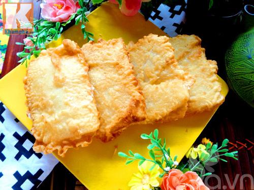Bánh sầu riêng chiên giòn tan thơm phức - 12