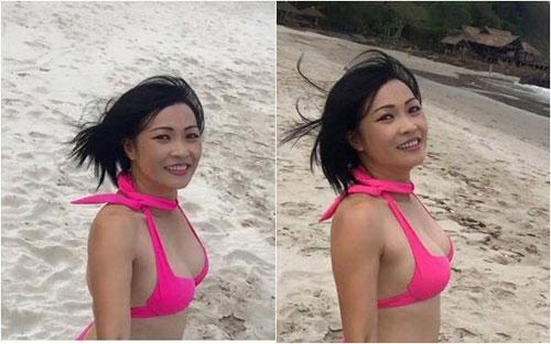 a hau ngo tra my mac bikini lo bung bau - 7