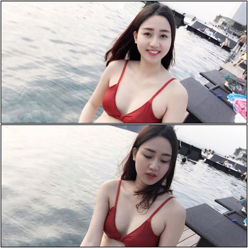 a hau ngo tra my mac bikini lo bung bau - 1