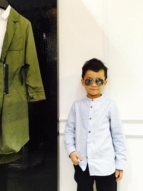 que van khoe con trai sanh dieu nhu hot boy - 13