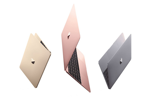 apple nang cap dong laptop macbook, them tuy chon mau rose gold - 1