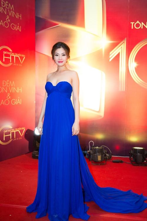 Á hậu Diễm Trang bị cảm sốt trước giờ lên sóng trực tiếp-2