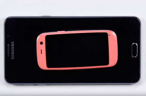 Ra mắt chiếc smartphone Android nhỏ nhất thế giới-4