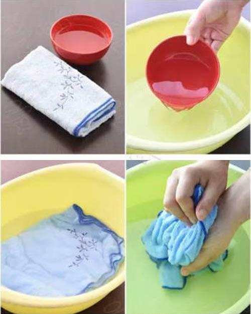 Mẹo giặt giữ khăn bông mềm mại, sạch vi khuẩn-2