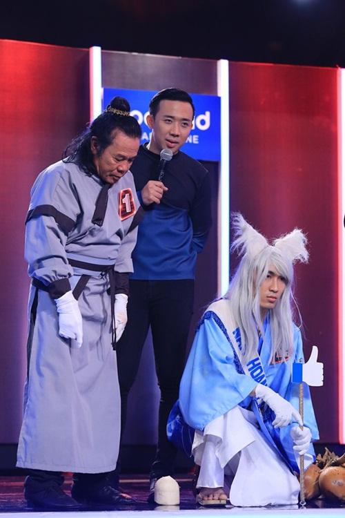 Hari Won sánh đôi 'soái ca' Hứa Vĩ Văn trước mặt Trấn Thành-10
