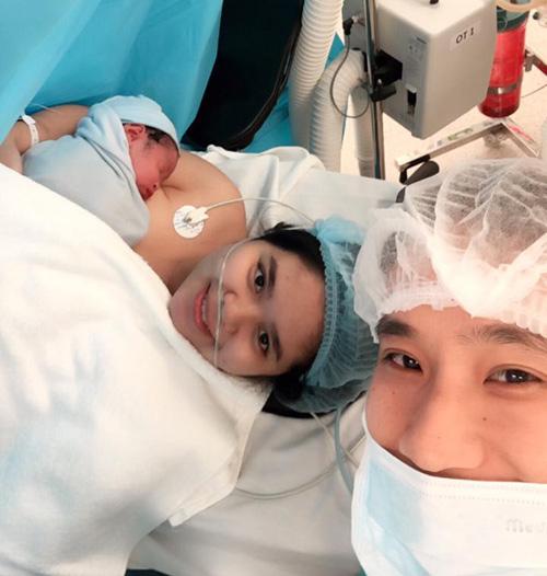 Nhật ký sinh mổ lần 2 của mẹ bị hở van tim-1