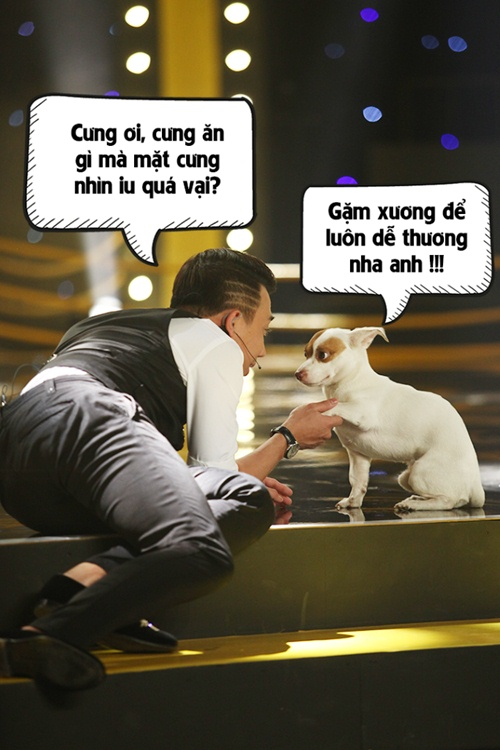 tran thanh nam dai tren san khau choi dua voi cho con - 4