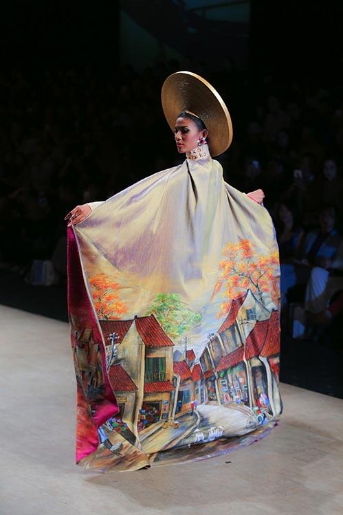 """Trương Thị May đẹp """"quyền lực"""", kiêu sa với áo dài-8"""
