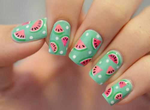 Những mẫu nail mát lạnh giúp bạn giải nhiệt mùa hè-6