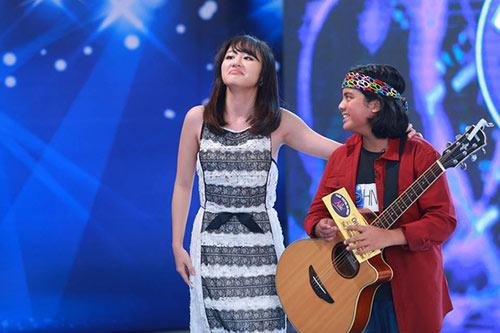 """Cậu bé lai Việt - Sing khiến GK Vietnam Idol Kids """"choáng"""" vì hát quá hay-2"""