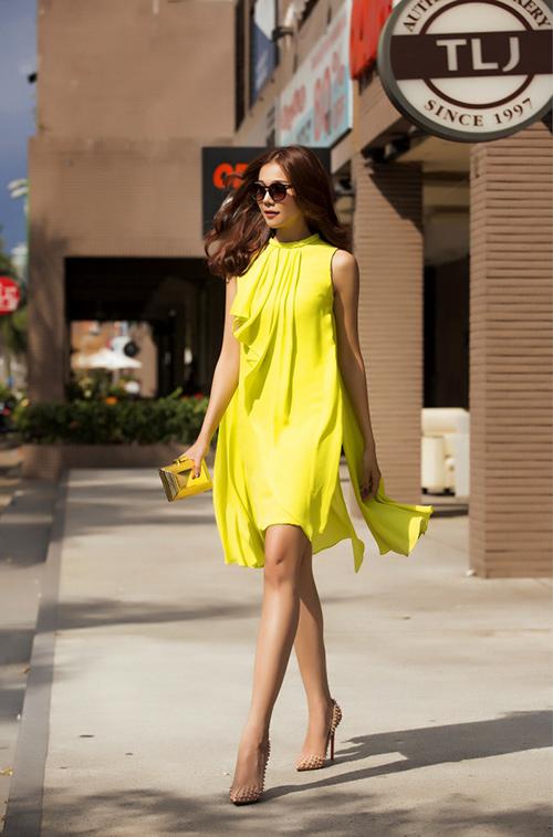 8 màu váy khiến bạn đẹp không thua kém Thanh Hằng-8