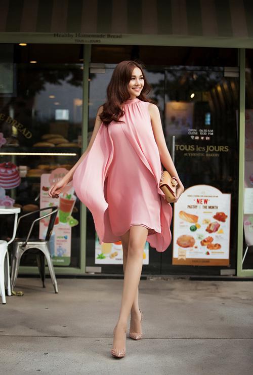 8 màu váy khiến bạn đẹp không thua kém Thanh Hằng-10