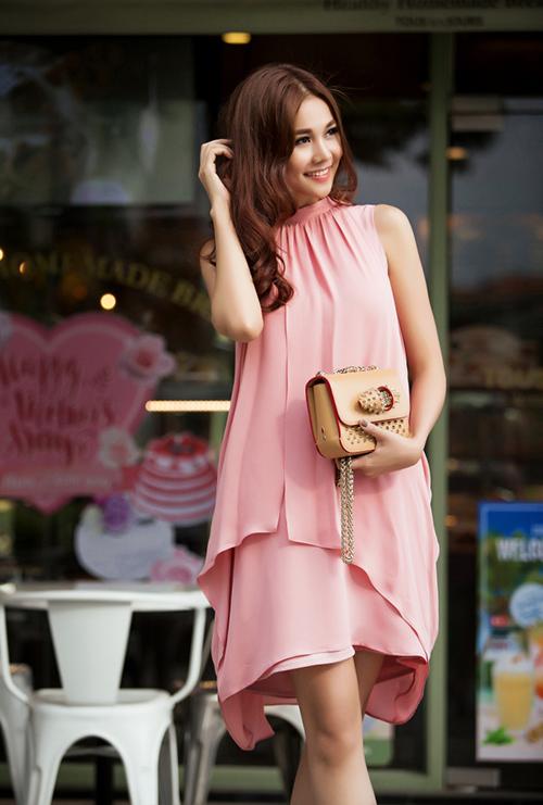 8 màu váy khiến bạn đẹp không thua kém Thanh Hằng-9