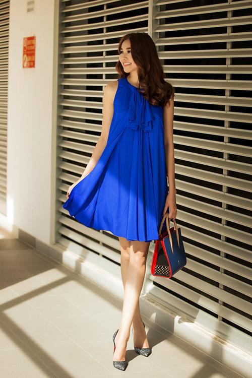 8 màu váy khiến bạn đẹp không thua kém Thanh Hằng-6