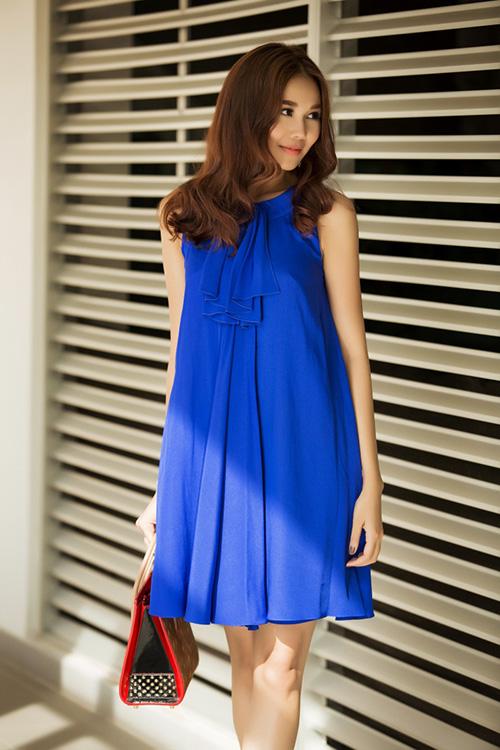 8 màu váy khiến bạn đẹp không thua kém Thanh Hằng-5