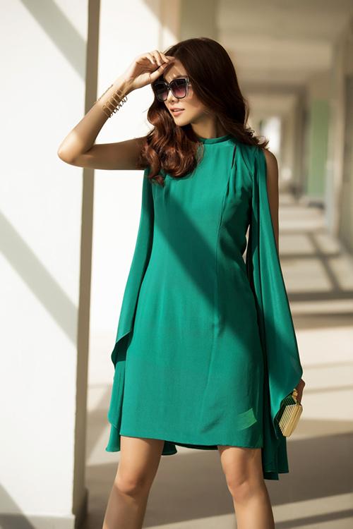 8 màu váy khiến bạn đẹp không thua kém Thanh Hằng-3