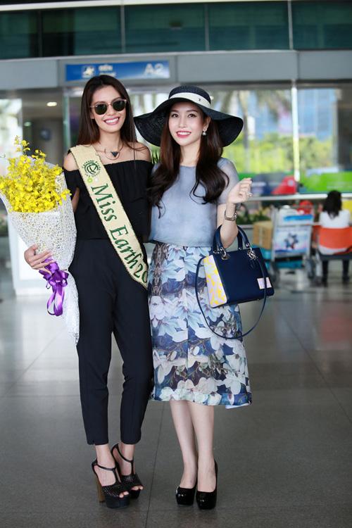Hoa hậu Trái đất 2015- Angelia Ong tới thăm Việt Nam-4