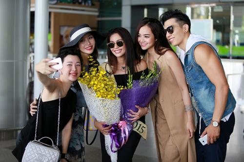 Hoa hậu Trái đất 2015- Angelia Ong tới thăm Việt Nam-5