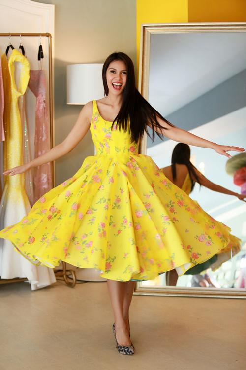Hoa hậu Trái đất 2015- Angelia Ong tới thăm Việt Nam-11