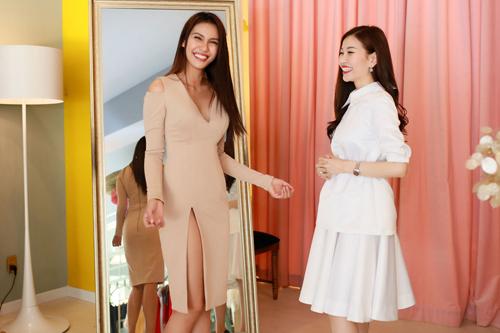 Hoa hậu Trái đất 2015- Angelia Ong tới thăm Việt Nam-9