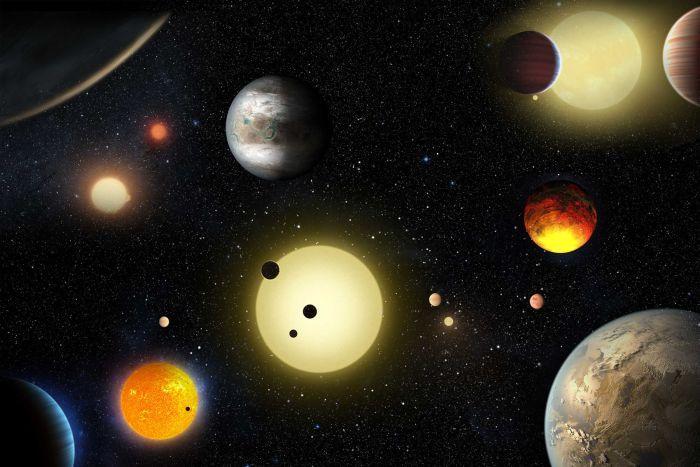NASA phát hiện 550 hành tinh đất đá kiểu Trái Đất-1