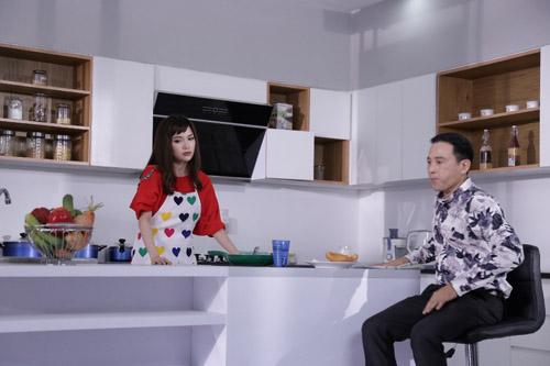 """Sĩ Thanh khổ sở vì """"chồng già""""-2"""