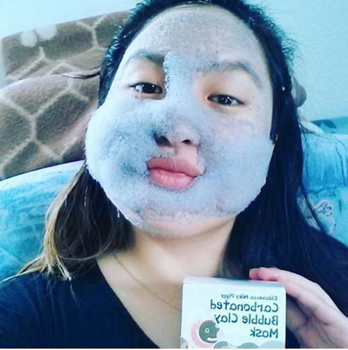 Phì cười vì mốt làm đẹp da với mặt nạ sủi bọt ngộ nghĩnh-4
