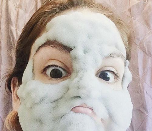 Phì cười vì mốt làm đẹp da với mặt nạ sủi bọt ngộ nghĩnh-1