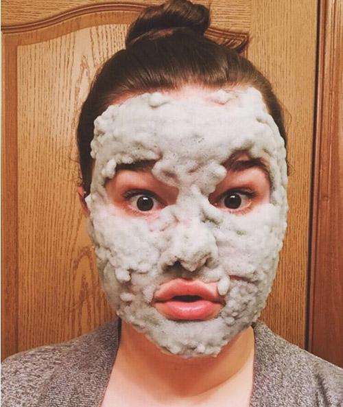 Phì cười vì mốt làm đẹp da với mặt nạ sủi bọt ngộ nghĩnh-13
