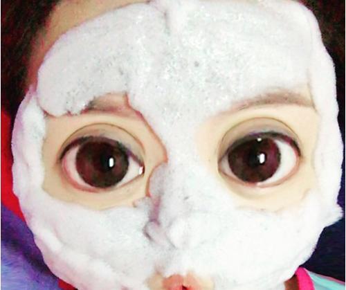 Phì cười vì mốt làm đẹp da với mặt nạ sủi bọt ngộ nghĩnh-2