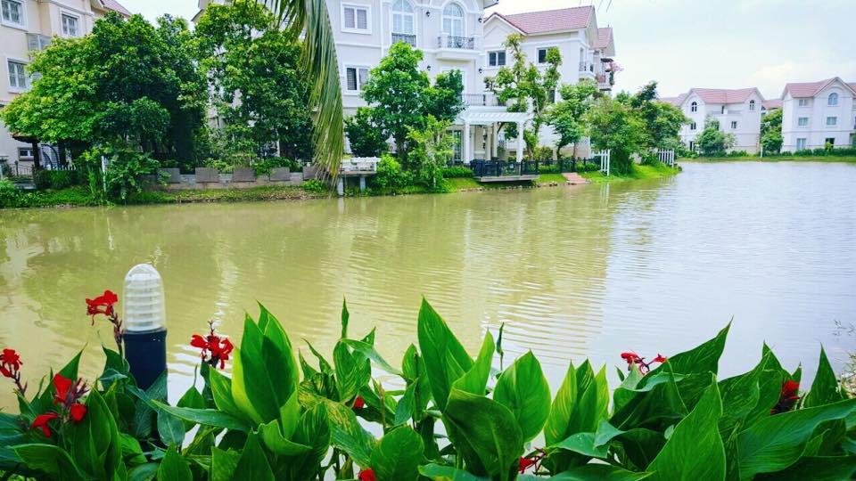 Lã Thanh Huyền hào hứng khoe biệt thự sang có vườn, cạnh sông-1