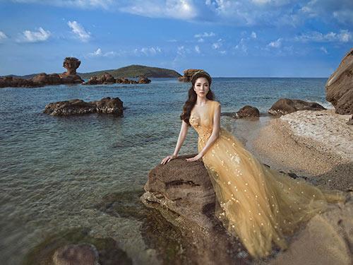 Nguyễn Thị Huyền đẹp tựa nữ thần khi trở lại showbiz-5
