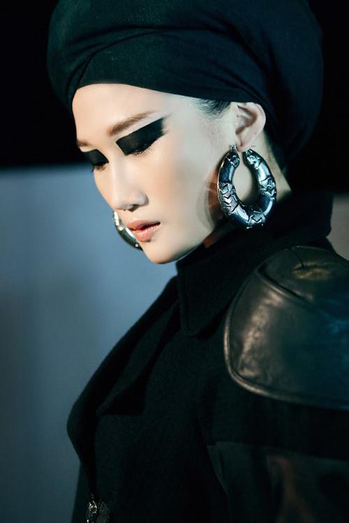 Những kiểu make-up ám ảnh trong Tuần Nhà thiết kế thời trang-5