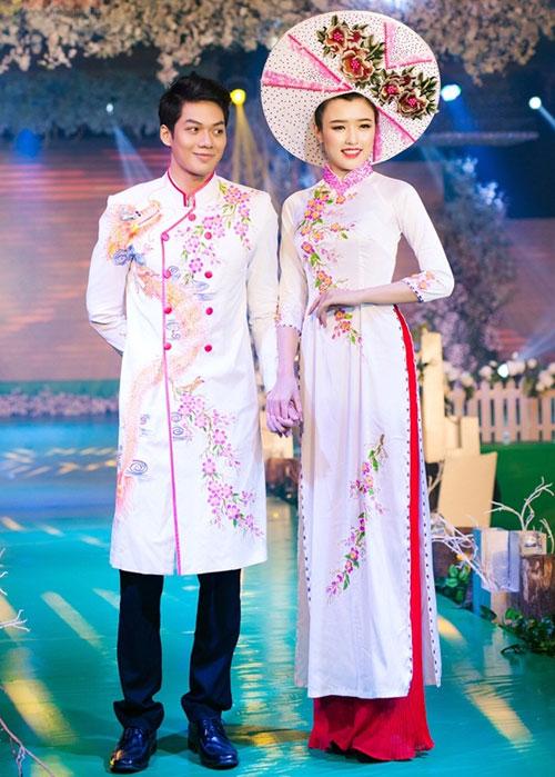Phan Thị Mơ kiều diễm với áo dài cưới-12