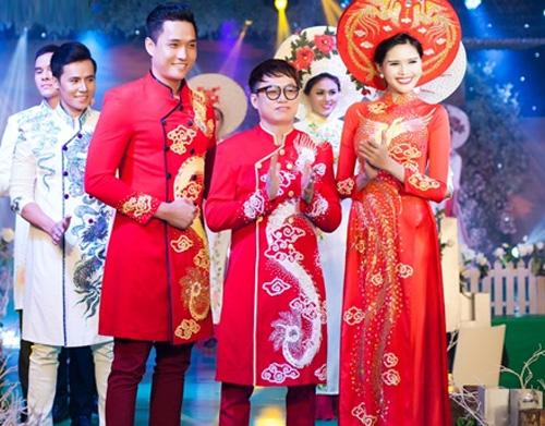 Phan Thị Mơ kiều diễm với áo dài cưới-13