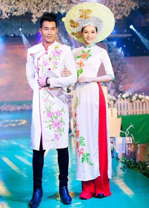 Phan Thị Mơ kiều diễm với áo dài cưới-10