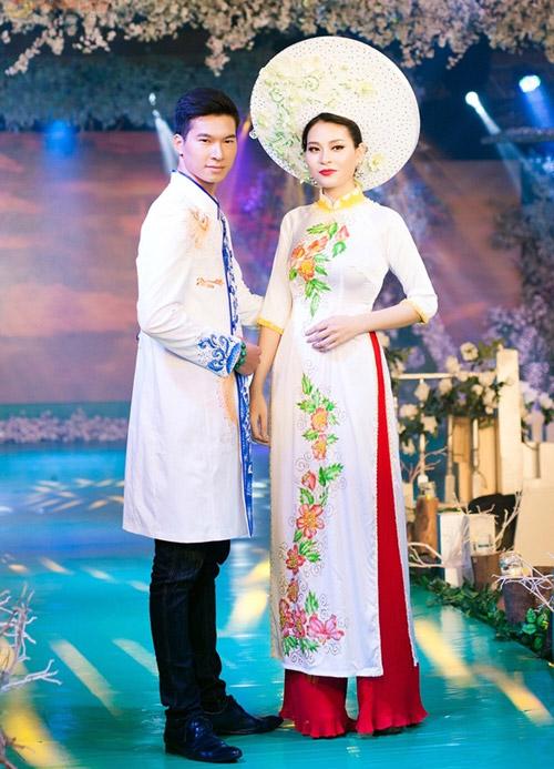 Phan Thị Mơ kiều diễm với áo dài cưới-8