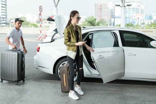Angela Phương Trinh đưa 100 kg hành lý sang dự Cannes-3