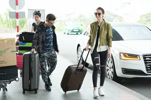 Angela Phương Trinh đưa 100 kg hành lý sang dự Cannes-4