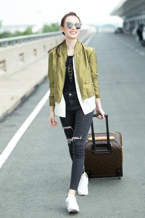 Angela Phương Trinh đưa 100 kg hành lý sang dự Cannes-5