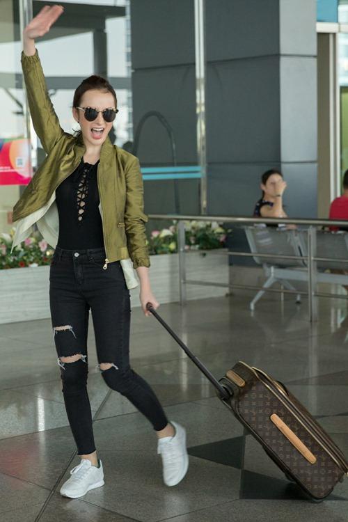 Angela Phương Trinh đưa 100 kg hành lý sang dự Cannes-7