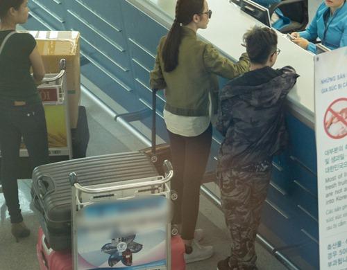 Angela Phương Trinh đưa 100 kg hành lý sang dự Cannes-9