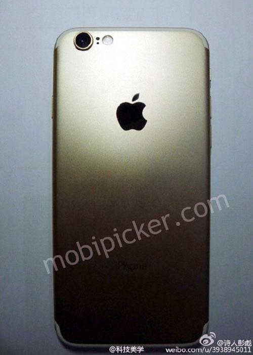 Lộ iPhone 7 bản gold, màn hình 4,7 inch-1